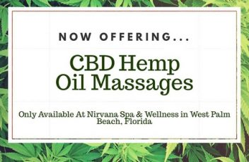 CBD Hemp cannabis Massage South Florida West Palm Beach